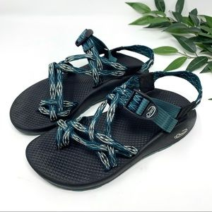 Chaco ZX2 Double Strap Toe Loop Sport Sandal 8